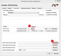 18: Server Zertifikat (Erweiterungen)