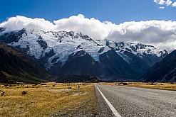 Blick auf den Mt. Cook National Park