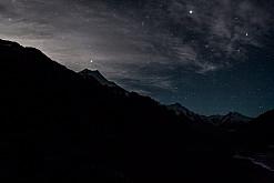 Sternenhimmel über Mt. Cook