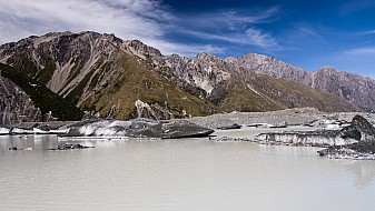 Tasman Lake (Gletschersee)