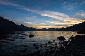 Ufer des  Lake Wakatipu