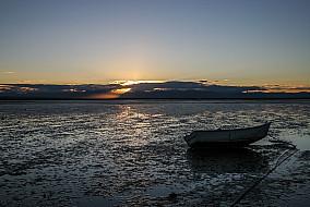 Sonnenuntergang am Port Nelson