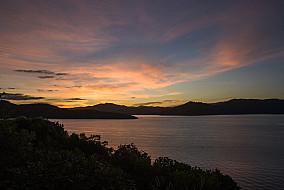 Sonnenuntergang bei Waikawa